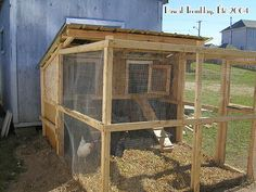 Raising backyard chickens - Chicken coop design idea - Hen house - Hen coop - Pens plans - Hen house plan - Poultry coop plan - Pens