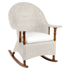 I pinned this Shoreside Rocker in Aged White from the Reed Vining event at Joss and Main!