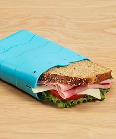 Loving this Blue Sandwich Pouch on #zulily! #zulilyfinds