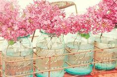 Reciclar tarros de vidrio de conservas en jarrones