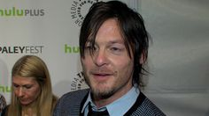 Click for video.  The Walking Dead: Norman Reedus Loves Getting Dirty