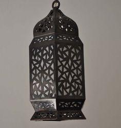 E Kenoz - Handcrafted Black Oxidized Brass Moroccan Hanging Lamp, $129.00 (http://www.ekenoz.com/moroccan-lighting/moroccan-lanterns/handcrafted-black-oxidized-brass-moroccan-hanging-lamp/)