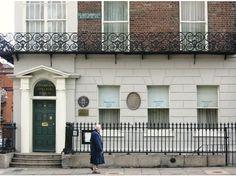OSCAR WILDE'S CHILDHOOD HOME FROM 1855 TO 1876.  DUBLIN, IRELAND            4470850