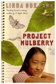 Project Mulberry by Linda Sue Park http://www.amazon.com/dp/0440421632/ref=cm_sw_r_pi_dp_.drStb1X3452Y2H0