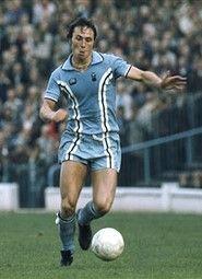 Bobby McDonald Coventry City 1976 Coventry City Fc, Football Uniforms, Big Men, Bobby, Blues, Clock, Sky, Game, History
