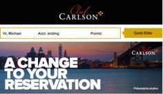 Radisson Blu Warwick- What Happens To Stays Booked w/ Club Carlson Points?