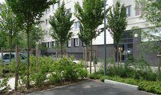 Insertion paysagère des aires de stationnement résidentielles