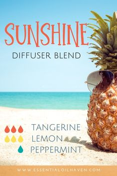Bring the sunshine in! These summer essential oils match the mood of the season. Try one of these 8 quick + easy summer diffuser blend recipes. Essential Oil Diffuser Blends, Doterra Essential Oils, Young Living Essential Oils, Essential Oil Combinations, Tangerine Essential Oil, Aromatherapy Oils, Makeup Tricks, Beauty Tricks, Sunshine