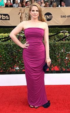 Anna Chlumsky from 2017 SAG Awards: Red Carpet Arrivals
