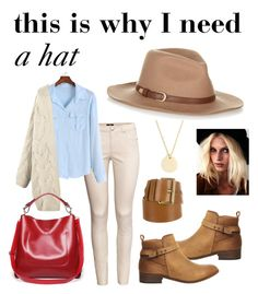 need to buy a hat by so-gosk on Polyvore featuring moda, H&M, Office, J.Crew, Michael Kors and Accessorize