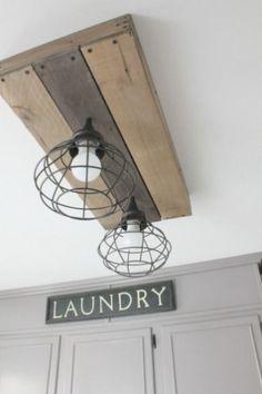 Amazing Farmhouse Laundry Room Decor Ideas 32