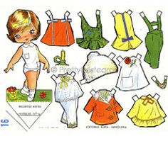 Gallarda Paper Doll | Please look at my Profile for more inf… | PrettyPostcards | Flickr