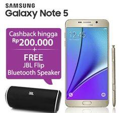 Galaxy Note 5 cashback hingga Rp 200 ribu dan bonus JBL Flip Bluetooth  Speaker 13ac3e68d7