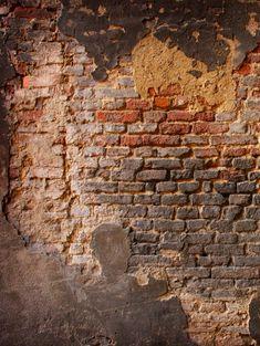 Town /& Brick Wall 7 x 7 Stencil Pair