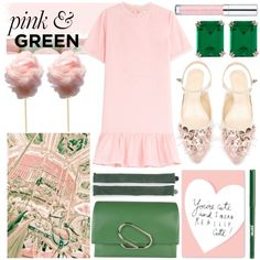 How To Wear pink & green Outfit Idea 2017 - Fashion Trends Ready To Wear For Plus Size, Curvy Women Over 20, 30, 40, 50