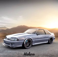 Mustang Cars Baby Ideas For 2019 Fox Body Mustang, Mustang Cars, Ford Mustang Gt, Ford Gt, Mustang Engine, Preppy Car Accessories, Pony Car, Audi Cars, Sweet Cars