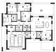 Watercolor Architecture, Home Projects, Planer, House Plans, Floor Plans, Layout, House Design, How To Plan, House Styles