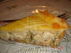 Torta Cremosa de Palmito - Alvaro Rodrigues
