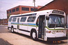 "GM ""New Look"" (Fishbowl) bus"