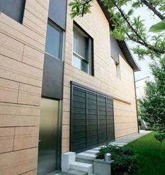 Fassade Grolla Rosa gebürstet http://marmor.premiumstone.eu