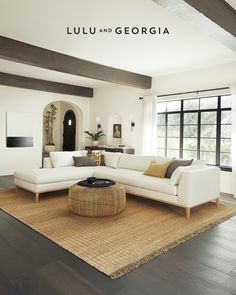 Create an inspired living space. Shop our carefully curated selection of sofas, coffee tables, and console tables. Living Room Update, Living Room Shop, Home Living Room, Living Room Designs, Modern Living Room Furniture, Sunken Living Room, Living Room Styles, Br House, Living Room Essentials