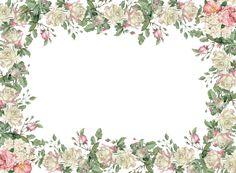 free printable vintage rose tags – white vintage rose tags and borders – Vintage Rosen Etiketten – freebie Printable Frames, Free Printable Tags, Printable Planner Stickers, Printable Vintage, Printables, Vintage Tags, Vintage Labels, Vintage Frames, Vintage Prints