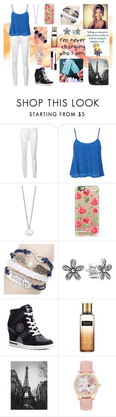 """""""Always."""" by dreamer2911 ❤ liked on Polyvore featuring Frame, Club L, Minor Obsessions, Casetify, Pandora, Tommy Hilfiger, Victoria's Secret and Christian Dior"""