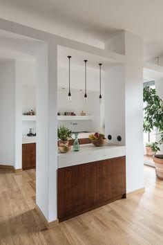Betonnen en houten keuken - Concrete by LCDA