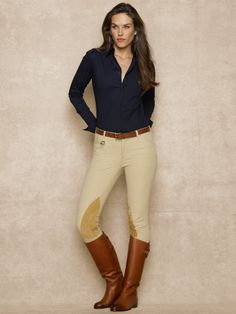 Palermo Hudson Jodhpur - Blue Label Pants & Shorts - RalphLauren.com