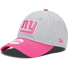 Women s New Era New York Giants Breast Cancer Awareness 9FORTY® Structured  Adjustable Hat - NFLShop 666a86a2d2d