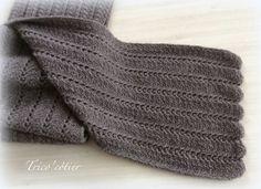 A tricoter avec des aiguilles 5 Tuto tricot écharpe Lang Yak