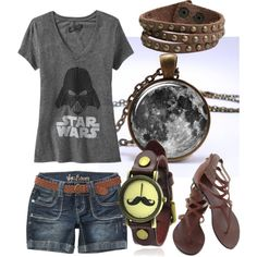 Star Wars Summer Outfit by laura-blakney on Polyvore