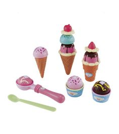 Cut & Play Ice Cream Set