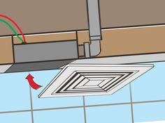 How to Install a Bathroom Fan -- via wikiHow.com