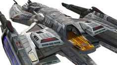 USS Icarus Aft View from Star Trek Renegades