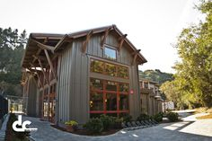 tall windows - Timber Frame Athletic Facility In Carmel, California | DC Building
