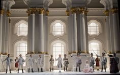 Strauss, Der Rosenkavalier. Ezio Frigerio .Théâtre du Capitole de Toulouse. 11.5.2008