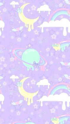 Pin by amber on kawaii - tokidoki kawaii wallpaper, pastel goth. Pastell Wallpaper, Goth Wallpaper, Trendy Wallpaper, Kawaii Wallpaper, Cute Wallpapers, Tumblr Backgrounds, Cute Backgrounds, Wallpaper Backgrounds, Iphone Wallpaper