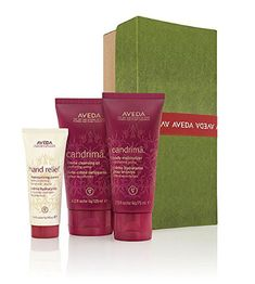 AVEDA Pure Comfort Gift set Candrima lotion cleansing oil moisturizer