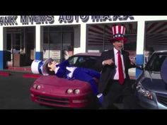 http://www.WinstonSalemUsedCars.com - Watch Tracy Myers & Uncle Frank hamming it up and messing it up during their video shoot for The Uncle Frank Show in February of 2012.   Frank Myers Auto Maxx is the premier used car dealership in Winston Salem, NC 27105.