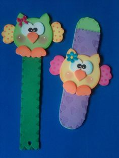 buhos Biscuit, Crafts, Easter Art, Color Crafts, Owl Bird, School, Projects, Going Away, Sharpies