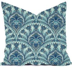 Outdoor Pillows or Indoor Custom Cover Navy by RainyDayDivineLLC