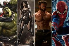 A Head-to-Head Look at the Upcoming Marvel and DC Movies - Beyond the Box Office - Zimbio
