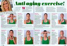 Face Yoga Exercises | Jennifer Aniston's Face Yoga Exercises