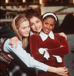 Alicia Silverstone, Brittany Murphy and Stacey Dash in Clueless. 90s Movies, Iconic Movies, Good Movies, Iconic Movie Characters, Movies From The 90s, Clueless Quotes, Clueless Outfits, Clueless Style, Mean Girls