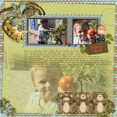 Layout by Wendy Tunison Designs using Little Man