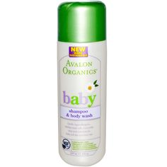 I'm learning all about Avalon Organics Tear-Free Baby Shampoo and Body Wash 8 fl oz at Natural Body Wash, Natural Baby, Mastic Gum, Avalon Organics, Cupons, Baby Shampoo, Facial Care, Free Baby Stuff, Organic Baby