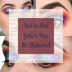 #dupe #juviasplace #themaquerade #makeup #eyemakeup #look #purple #green #creative #blogger #beauty