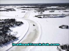 A great video that provides information and facts about getting a high paid truck driving job on the Alaskan and Canadian ice roads.