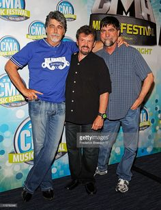 Randy Owen, Jeff Cook, and Teddy Gentry of the band Alabama attend the 2011 CMA Music Festival on June 9, 2011 in Nashville, Tennessee.